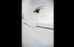 Winter X Games Europe - Men\'s Ski Pipe Finals Photo 0005