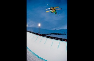 Winter X Games Europe - Men\'s Ski Pipe Finals Photo 0006