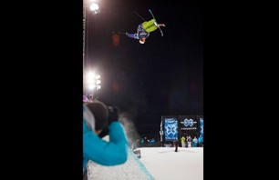 Winter X Games Europe - Men\'s Ski Pipe Finals Photo 0008
