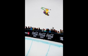 Winter X Games Europe - Men\'s Ski Pipe Finals Photo 0009