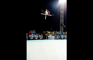 Winter X Games Europe - Men\'s Ski Pipe Finals Photo 0011