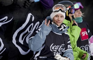 Winter X Games Europe - Women\'s SNB Pipe Finals Photo 0003