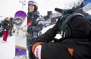 Winter X Games Europe - Women\'s SNB Pipe Finals Photo 0009