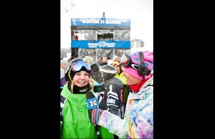 Winter X Games Europe - Women\'s SNB Pipe Finals Photo 0011
