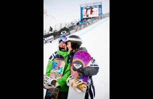 Winter X Games Europe - Women\'s SNB Pipe Finals Photo 0010