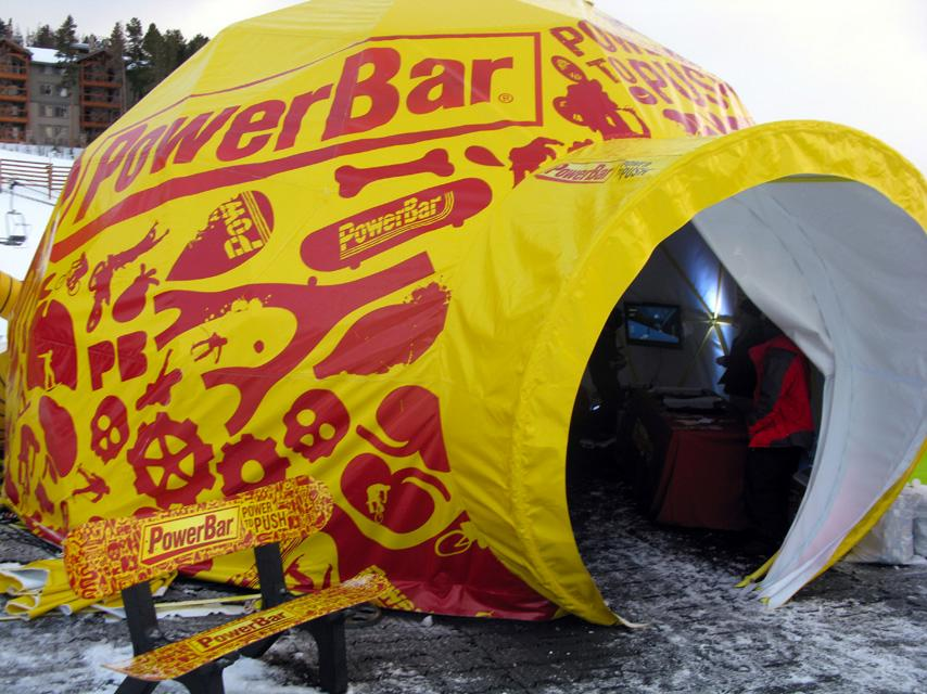 Winter Dew Tour Sponsor Village