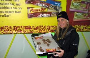 Dew Tour Breck Powerbar Girl