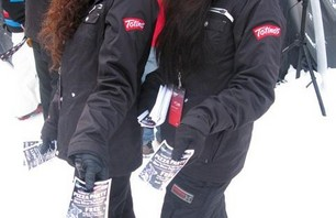 Dew Tour Breck Totinos Girls