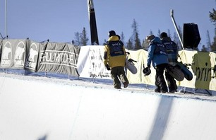 US Snowboarding Grand Prix Men\'s Qualifier Gallery Photo 0005