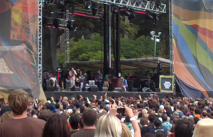 2010 Outside Lands: Edward Sharpe & The Magnetic Zeros - \