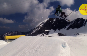 Start of the Kitzsteinhorn Mellow Park Season