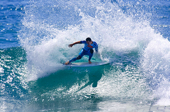 2010 Hurley Pro - Day 1 Highlights