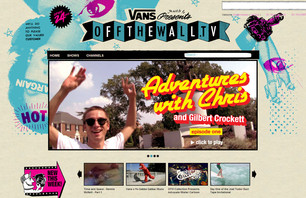 Vans Introduces Offthewall.tv Interactive Television Network