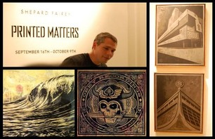Shepard Fairey Debuts New Exhibit - \