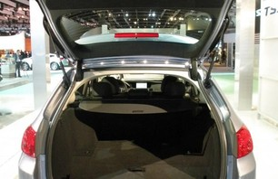 2011 Acura TSX Sports Wagon Trunk