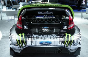 The Back of Ken Block\'s Ford Fiesta