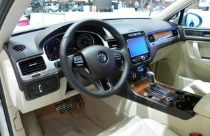VW Touareg Hybrid Dashboard