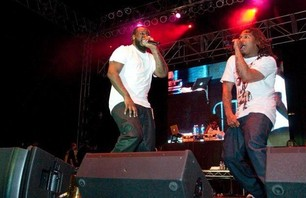 Clipse & T-Pain Rock USC