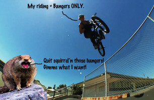You can't be accused of squirrel'n clips when all you produce is bangers.