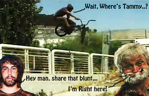 Lahsaan Kobza Gettin\' Blunted In SF!