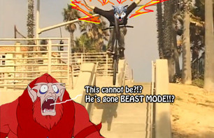 Beastman has never seen a mortal go BEAST MODE...