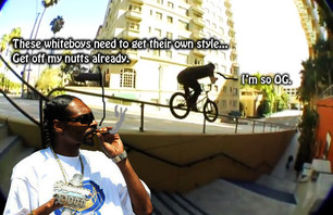 Snoop Dogg loves weed more than every BMX rider combined.