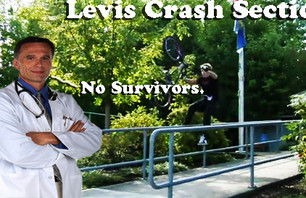 Levis Deluxe Crash Section: Pros Die Too!