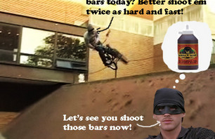 Darryl Tocco Can\'t Hold Onto His Bars!