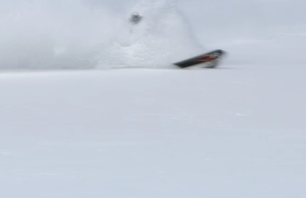 Pow Skiing on Teton Pass