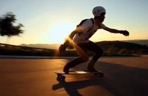 Longboarding Freeride