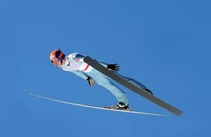 Watch Ski Jumper Fly 250 Yards - Set World Record!!