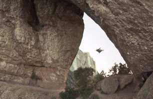 Watch Unbelievable Wingsuit Cave Flight! Batman Cave, Alexander Polli