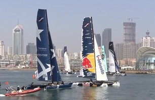 Extreme Sailing Series 2013 - Racing in China