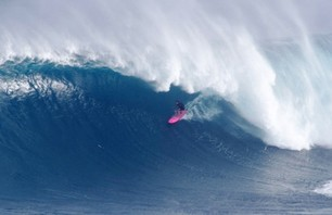 Big Wave Surfer Wins $50,000 For Riding Record Wave