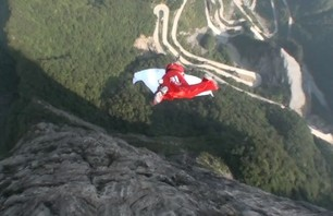 Base Jumping in China is Pretty Wild