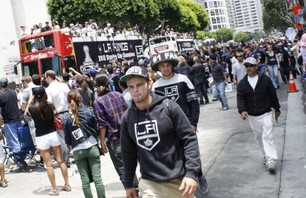 The Los Angeles Kings Parade Photo 0009