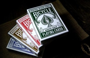 Bicycle Playing Cards Heritage Series Photo 0002