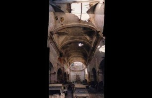 Crumbling Sant Fransesc Church Photo 0006