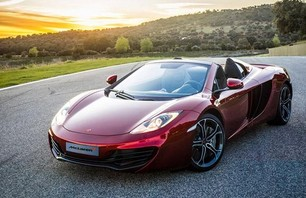 McLaren 12C Spider Convertible Photo 0001