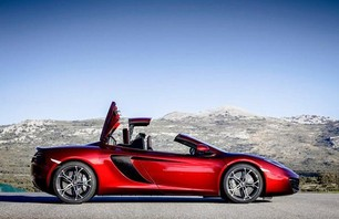 McLaren 12C Spider Convertible Photo 0002