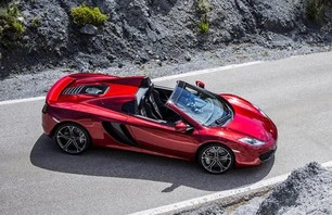 McLaren 12C Spider Convertible Photo 0004