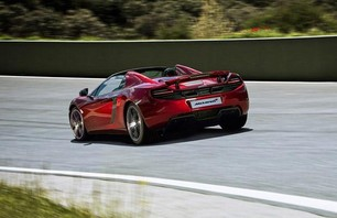 McLaren 12C Spider Convertible Photo 0005