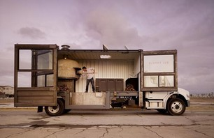 A Mobile Pizza Kitchen Made From a Shipping Container Photo 0001