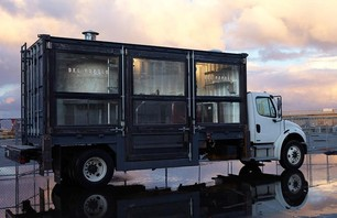 A Mobile Pizza Kitchen Made From a Shipping Container Photo 0007