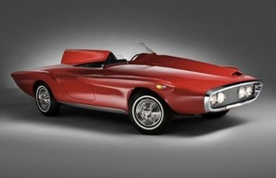 1960 Plymouth XNR Concept Car Photo 0003