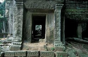 Abandoned Ta Prohm Temple in Middle of Jungle Photo 0005