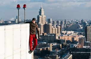 Ukrainian Daredevil Rising to New Heights