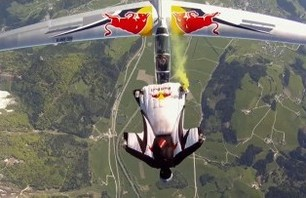 Video of the Day: The Wing Suit Team