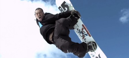 Kazuhiro Kokubo Standing Sideways in the Back Country