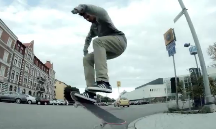 Video of the Day: Adidas Skateboarding Sweden Team